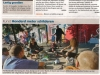 Nice picture in Metro. For more clippings check 'media'